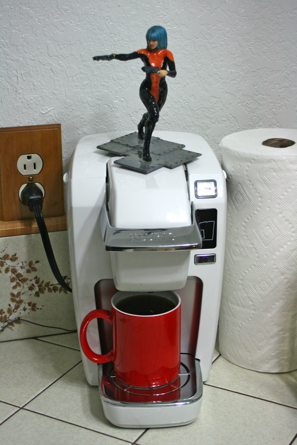 Photo: Vicki, the Coffee Avenger